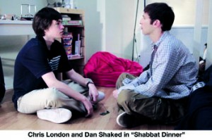 Shabbat Dinner - still- chris-dan