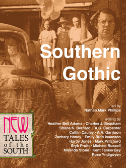 Southern Gothic cover, ebook,