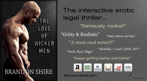 wicked men - gay erotic legal thriller