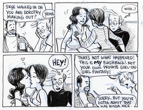 lesbian comics