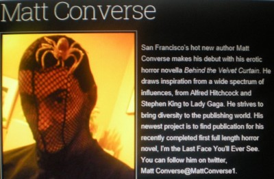 author Matt Converse